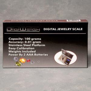 "SCALE 100G X 0.01G ""DIGIWEIGH"""