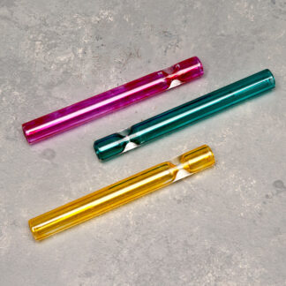 "3"" Colored Glass Cigarette-Style One-Hitter"