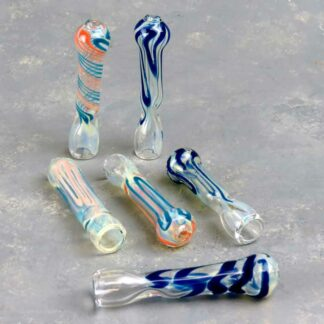"3"" Smooth Glass Chillums"
