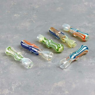 "3"" Contoured Glass Chillums"