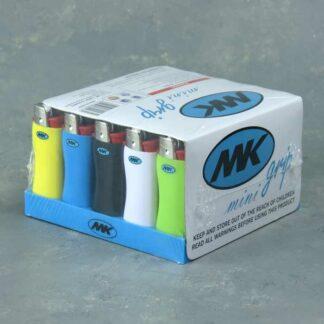 """2.5"""" Mini Disposable Adjustable Butane Lighters"""