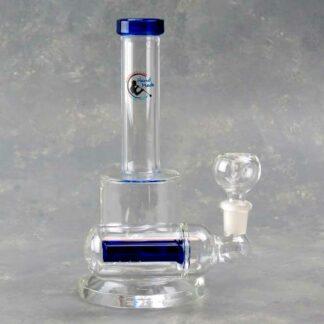 "8"" Borosilicate Glass Water Pipe w/Sidecar Inline Perc"