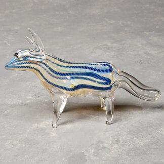 Fox Glass Hand Pipe