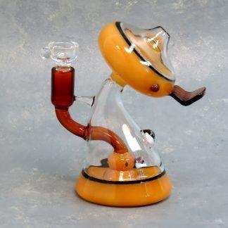 """6"""" MushroomDuck Glass Water Pipe"""