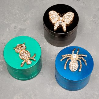 52mm Bling Animals 4-Part Grinders