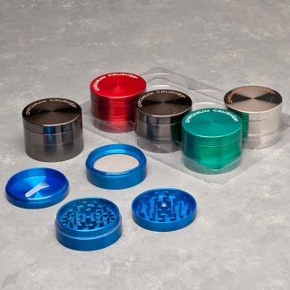 "62mm ""Chromium Crusher"" 4-Part Grinders"