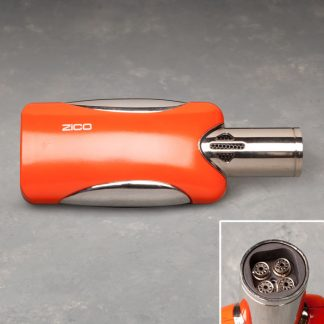 "5"" Side-Fire Quad-Torch Lighter"