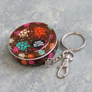 """2"""" Assorted Mini Keychain Ashtrays"""