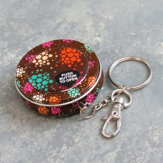 "2"" Assorted Mini Keychain Ashtrays"