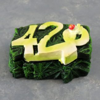 """3.5"""" 420 Magnetic Lid Ash Tray"""