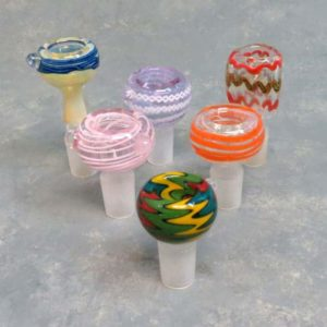 18mm Assorted Glass on Glass Bowls