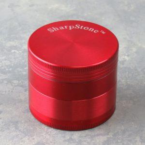 "62mm ""SharpStone"" 4-Part Grinders w/Scoop"