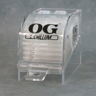 """4"""" Clear Glass OG Chillums w/Display Case"""