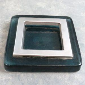 """6"""" Heavy Glass Ashtray"""