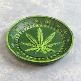 "5"" Leaf Incense Burner/Ash Tray"