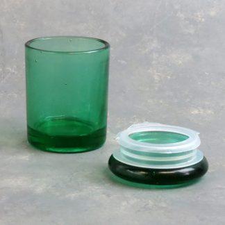 """3"""" Glass Jar w/Plastic Seal Lid"""