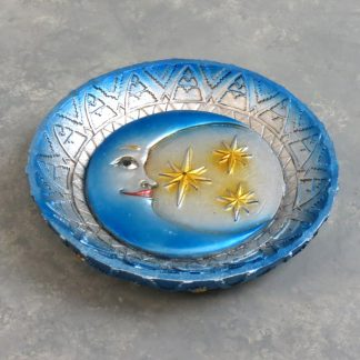 "5"" Moon & Stars Incense Burner/Ash Tray"