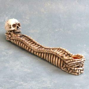 "10"" Skull & Bones Incense Burner"