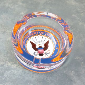 Thick Glass Dept. of Navy Ash Trays
