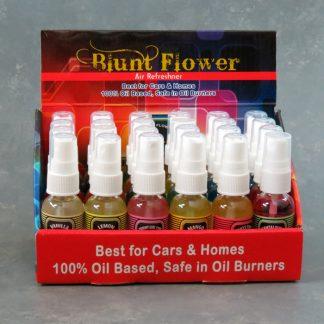 24pk Blunt Flower Air Freshener Spray Bottles