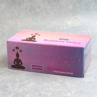 12pk Nandita Buddhist Tantra Incense Sticks (15g packs)