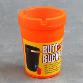 """Butt Bucket"" Extinguishing Ashtrays"