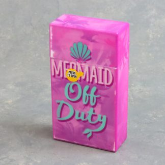 Mix Graphic Plastic Flip-Top Cigarette Case