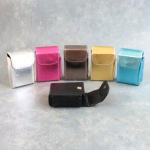 Semi-Metallic Magnetic Soft Cigarette Case w/Lighter Pocket and Belt Loop