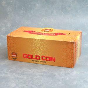 12pk Anand Gold Coin Incense Sticks (15g packs)
