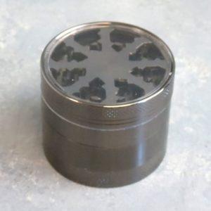 55mm 4pc Grinders w/See-Through Top