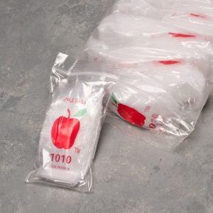 "1000pcs 1"" x 1"" Plastic Baggies"