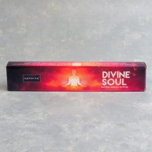 12pk Nandita Divine Soul Incense Sticks (15g packs)