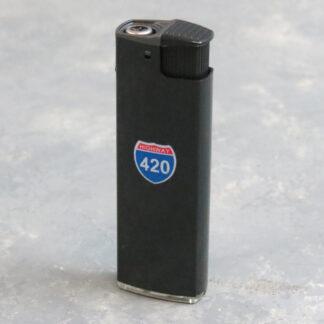 """3"""" Leaf Culture Adjustable Torch Lighters"""
