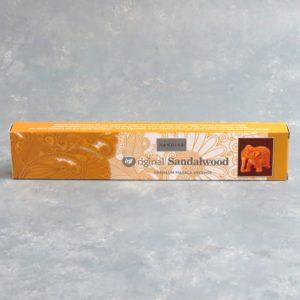 12pk Nandita Original Sandalwood Incense Sticks (15g packs)