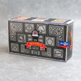 12pk Satya Super Hit Incense Sticks (15g packs)