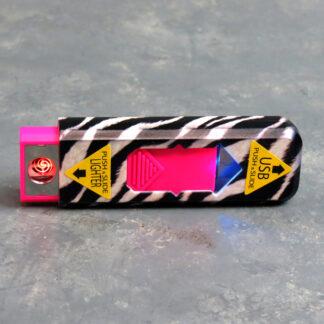 """3"""" USB Rechargable Flameless Cigarette Lighters"""