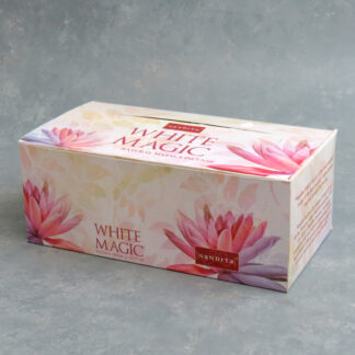 12pk Nandita White Magic Incense Sticks (15g packs)