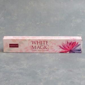 12pk Nandita White Magic Incense Sticks (15g packs)