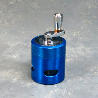 42mm 4-Part Grinders w/Crank and Window