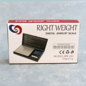 Right Weight RW-003 Compact Digital Pocket Scale 100g x 0.01g