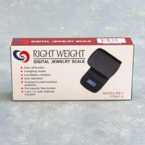 Right Weight RW-6 Digital Pocket Scale 1000g x 0.1g