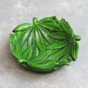"""4.5"""" Rounded Leaf Ashtray"""