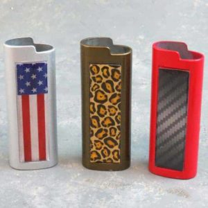 """3.125"""" Double-Sided Metal Lighter Cases"""