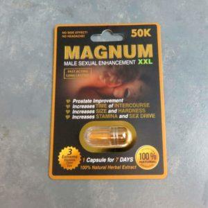 Magnum 50K Male Sexual Enhancement Exp 12/31/25