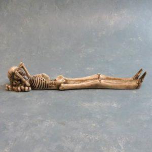 "10"" Lying Down Skeleton Incese Burner"