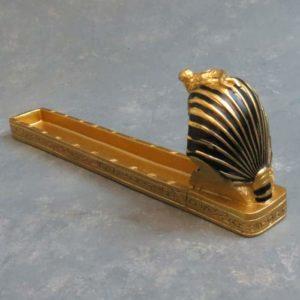 """10"""" Egyptian Pharaoh Incense Burner"""