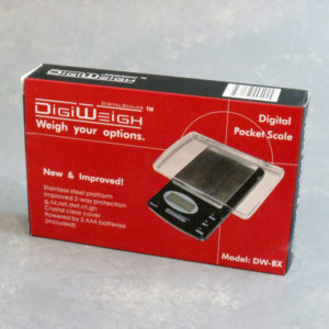 DigiWeigh Clear Cover Pocket Scale 1000g x 0.1g