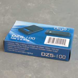 DigitZ Mini Digital Pocket Scale 100g x 0.01g