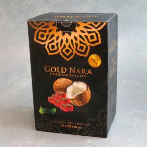 Gold Nara Coconut Shell Charcoal (120pcs)