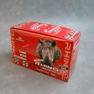 Rhino69 Platinum 500K – Male Enhancement Single Pill – 24 Counts Per Box